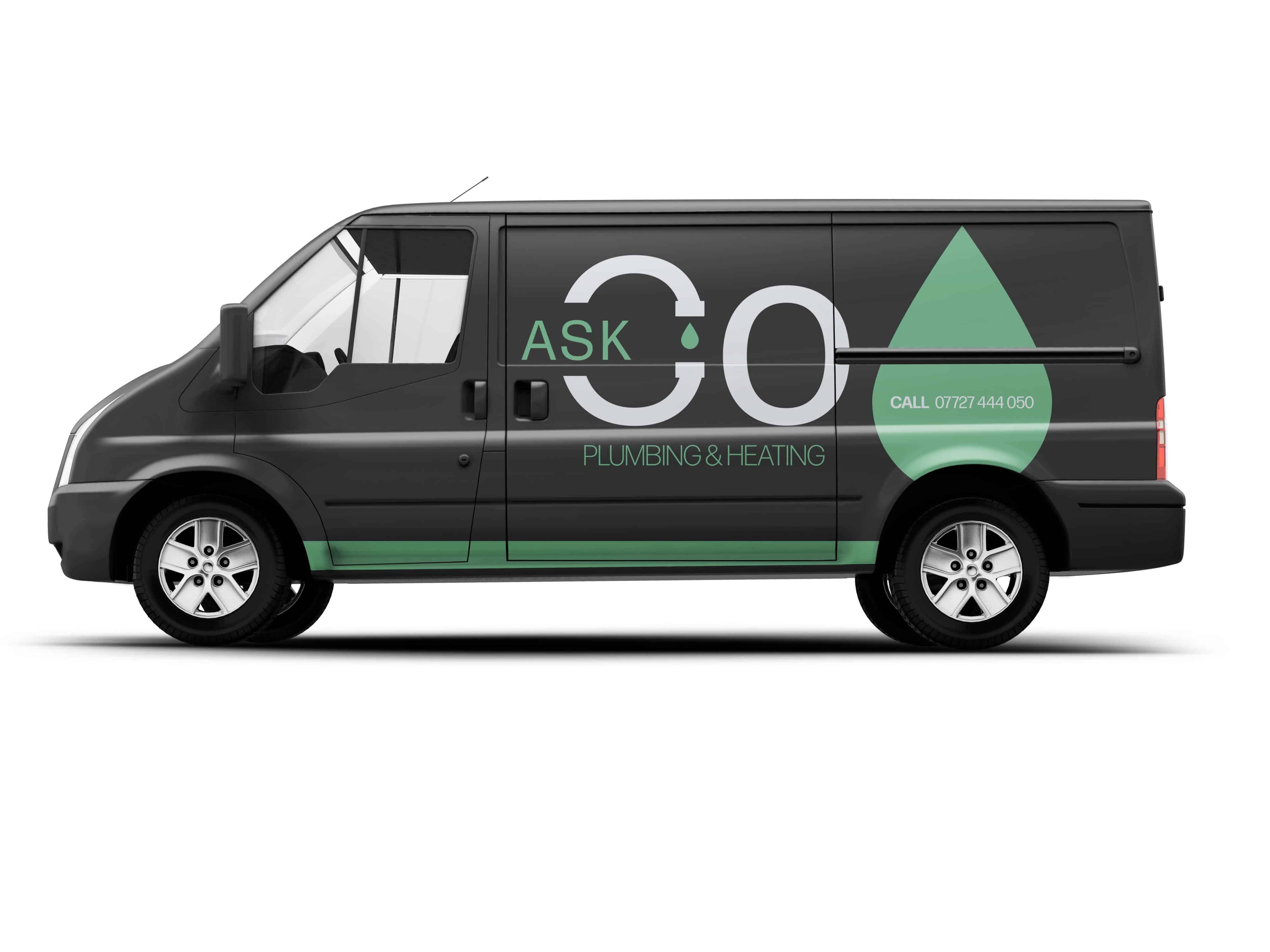 Plumbing & Heating Specialist Van